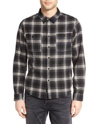 Native Youth - Brant Woven Shirt - Lyst