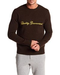 Rag & Bone - Victor Quality Guarenteed Crew Neck Sweater - Lyst