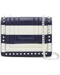 Luana Italy - Devon Leather Crossbody Bag - Lyst
