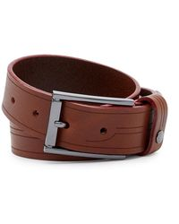 Ted Baker - Etched Leather Belt - Lyst