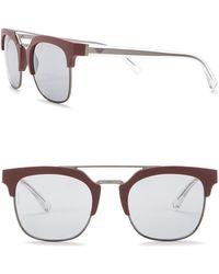 Emporio Armani - Men's Clubmaster 52mm Acetate Frame Sunglasses - Lyst