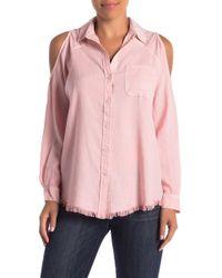 Velvet Heart - Carissa Cold Shoulder Shirt - Lyst