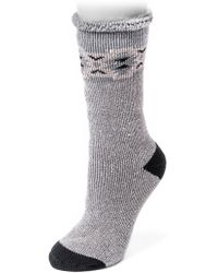 Muk Luks | Heat Retainer Thermal Insulated Socks | Lyst