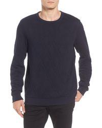 Scotch & Soda - Quilted Sweatshirt - Lyst