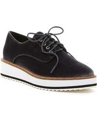 Shellys London - Fontain Velvet Sneaker - Lyst