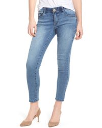Wit & Wisdom - Ab-solution Ankle Skimmer Skinny Jeans Regular & Petite (nordstrom Exclusive) - Lyst