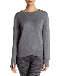 Brooks - Fly-by Quilted Running Sweatshirt - Lyst