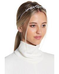 Cara   Floral & Pearl Detail Headband   Lyst