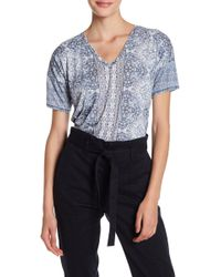 Lucky Brand - Baroque Mosaic Tee - Lyst