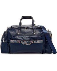 Robert Graham - San Pedro Leather Trim Weekend Bag - Lyst