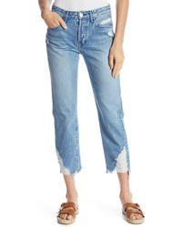 3x1 - Higher Ground Boyfriend Crop Jeans - Lyst