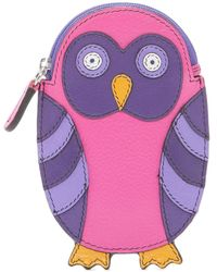 ILI - Owl Leather Coin Purse - Lyst