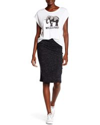 Threads For Thought - Taralynn Ribbed Knit Skirt - Lyst