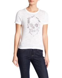 Skull Cashmere - Dixie Embroidered Skull Top - Lyst