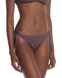 L*Space - Lily Pucker Tie Side Bikini Bottoms - Lyst