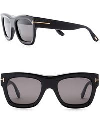 Tom Ford - 58mm Oversized Sunglasses - Lyst