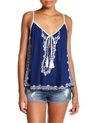 Tiare Hawaii - Madrid Embroidered Tank Top - Lyst