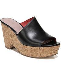 Diane von Furstenberg - Bonnie Wedge Slide Sandal (women) - Lyst