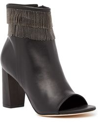 Bernardo - Honour Peep Toe Beaded Bootie - Lyst