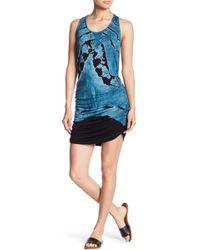 Young Fabulous & Broke - Becky Tie Dye Racerback Dress - Lyst
