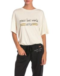 "Peace Love World - """" Kenny Tee - Lyst"
