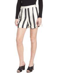 Trouvé - Trouv? Stripe Cuff Shorts - Lyst