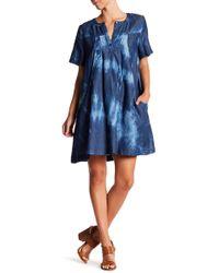 Thacker NYC - Dana Draped Pocket Dress - Lyst