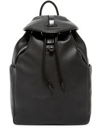 Alexander McQueen - Skull Perforated Leather Backpack - Lyst a1fd1b3450