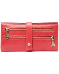 Hobo Zenith Leather Wallet - Multicolor