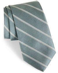 Calibrate - Pixel Stripe Silk Tie - Lyst