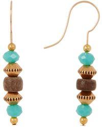 ALEX AND ANI - Tidepool Beaded Drop Earrings - Lyst