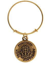 ALEX AND ANI - Hand Of Fatima Expandable Wire Ring - Lyst