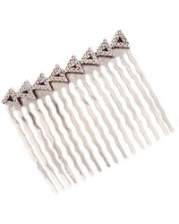 House of Harlow 1960 - Migration Pave Crystal Triangles Comb - Lyst