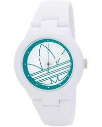 adidas Originals - Women's Abrden White Watch - Lyst