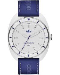adidas Originals - Men's 1969 Stan Smith Leather Strap Watch - Lyst
