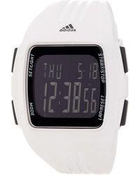 adidas Originals - Men's Duramo Silicone Digital Watch - Lyst