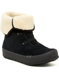 Ahnu - Himalaya Faux Fur Lined Waterproof Boot - Lyst
