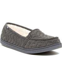 Roxy - Minnow Wool Faux Fur Slip-on Trainer - Lyst