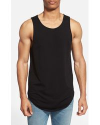 Alexander Simai - Elongated Tank Top - Lyst