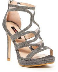 Elegant Footwear - Aude Mesh Strap Heel - Lyst