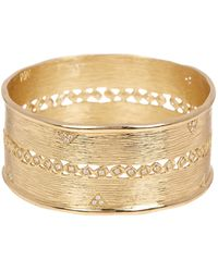 Melinda Maria - Jones White Cz Bangle - Lyst