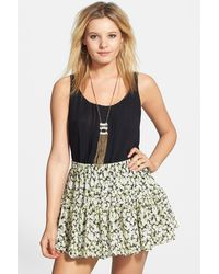 Volcom - So Serious Skirt (juniors) - Lyst