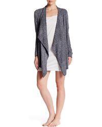 Barefoot Dreams - Chic Lite Heathered Calypso Wrap - Lyst