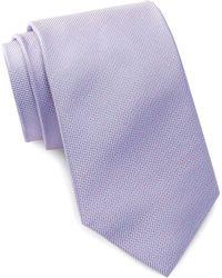 Bristol & Bull - Pink & Aqua Micro Medallion Silk Tie - Lyst