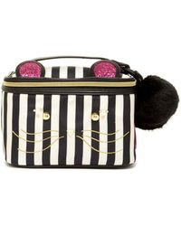 Betsey Johnson - Kitsch Cat Cosmo Cosmetic Case - Lyst
