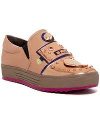 Ivy Kirzhner - Bertha Embellished Slip-on Sneaker - Lyst