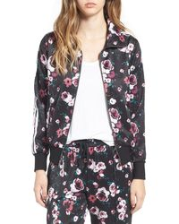 Love, Fire - Floral Print Track Jacket - Lyst