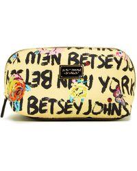 Betsey Johnson - Cosmetic Bag - Lyst