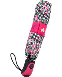 Betsey Johnson - Auto Open/close Umbrella - Lyst