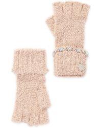 Betsey Johnson - On The Rocks Fingerless Gloves - Lyst
